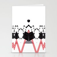 rorschach Stationery Cards featuring Rorschach by Isaak_Rodriguez