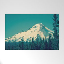 Mount Hood Welcome Mat