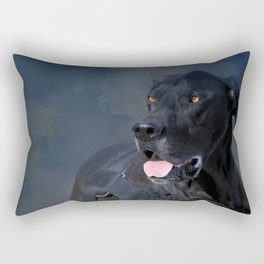 Great Dane - A Working Dog Rectangular Pillow