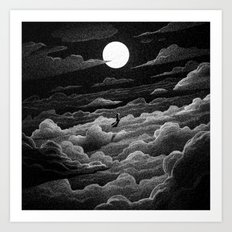 Drawlloween 2016: Witch Art Print