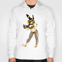 umbreon Hoodies featuring Umbreon (Jessica Nigri) by MaxGunner44