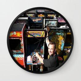 The King of Arcades Card Wall Clock