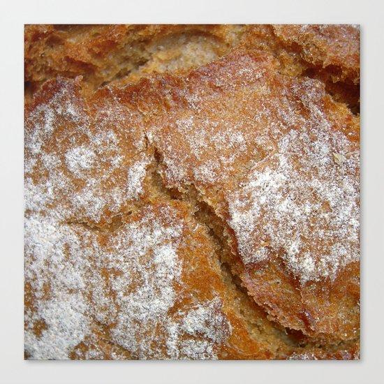 bread macro II Canvas Print