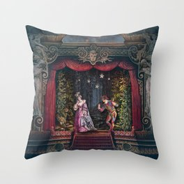 Midnight at La Fenice Throw Pillow