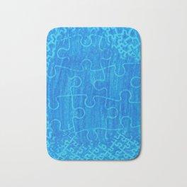 Life is a puzzle 7 Bath Mat
