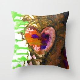 Eternal Heart No. 13G by Kathy Morton Stanion Throw Pillow