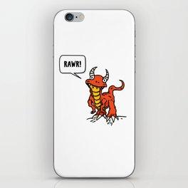 Mr. Odd Dino iPhone Skin