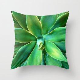 Elegant Sophisticated Succulent Throw Pillow
