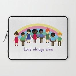 Love always wins Laptop Sleeve