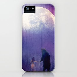 Follow your inner moonlight iPhone Case