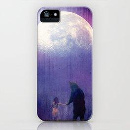 Follow your inner moonlight iPhone Case