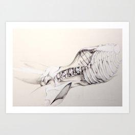 Disappearing Series pt 6 Art Print