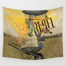 Unshackled, Rebel by Lendi Hader Wall Tapestry