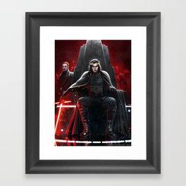 Supreme Leader Kylo Ren Framed Art Print