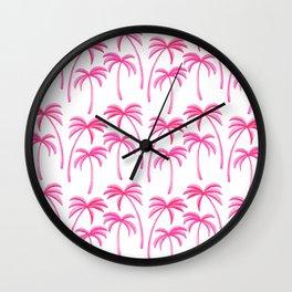 Dreamy Island Vacation Wall Clock