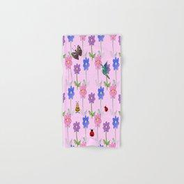 Pink Nature Hand & Bath Towel