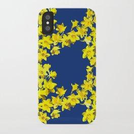 Daffodil Print iPhone Case