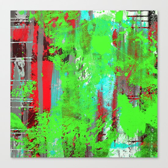 Colour Injection I Canvas Print