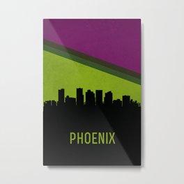 Phoenix Skyline Metal Print