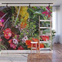 Summer Flower Garden Wall Mural