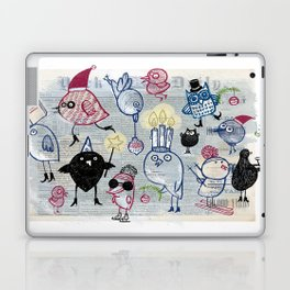 Swedish XMAS birds Laptop & iPad Skin