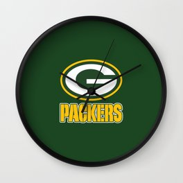 G packers Wall Clock
