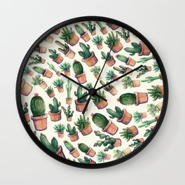 cactus big invasion!! Wall Clock