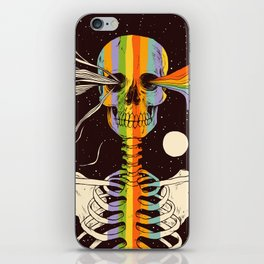 Dark Side of Existence iPhone Skin