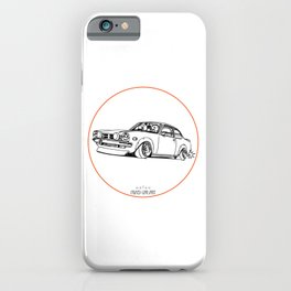 Crazy Car Art 0190 iPhone Case