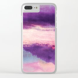 Fantasy Abstract Clear iPhone Case