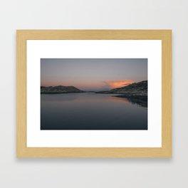 Sunrise in Norway Framed Art Print