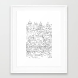 Galway, Ireland Framed Art Print
