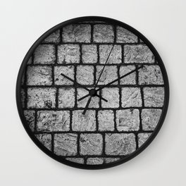 Cobble Path Wall Clock
