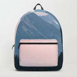 Pink Cascades - Mountain Nature Landscape Photography Backpack