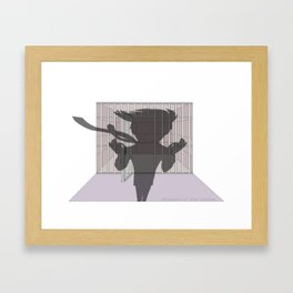 Shadow of the Future Framed Art Print