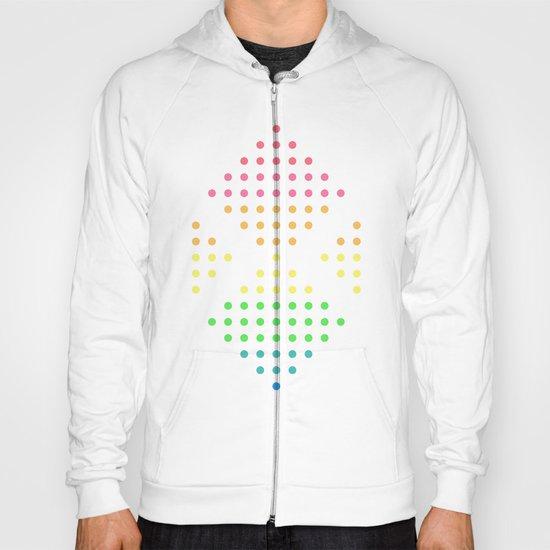 Sugar Dots (white) Hoody