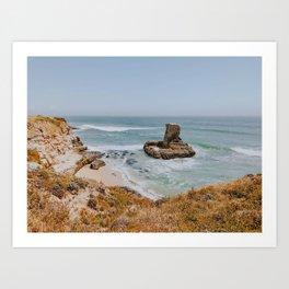 california coast vii / santa cruz, california Art Print