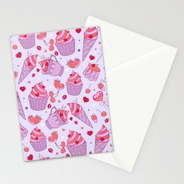 Rockabilly sweets Stationery Cards