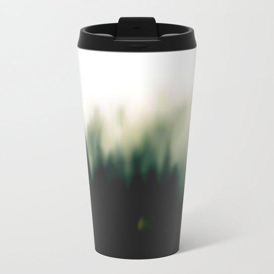 Foggy forrest 2 Metal Travel Mug