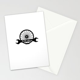 bike orphanage logo Stationery Cards