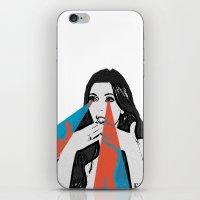 kardashian iPhone & iPod Skins featuring OMG! by Futurlasornow