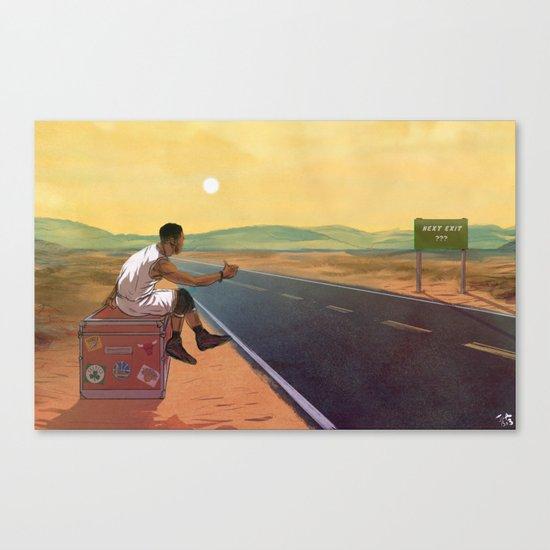 The Free Agent Landscape Canvas Print