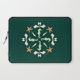 Seahorse Mandala - Watercolor Laptop Sleeve