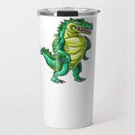 Crocodile Uncle Alligator Reptile Animal Travel Mug