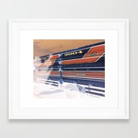 ford Framed Art Prints featuring Ford by czossi