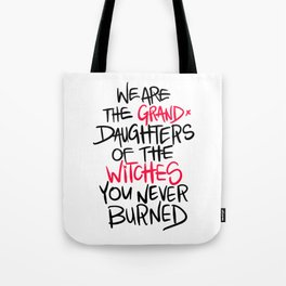 Grand Witches Tote Bag