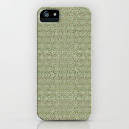 Celtic Knot Pattern III iPhone Case