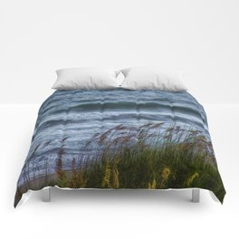 Blowing Sea Oats Comforters