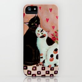 Lovecats iPhone Case