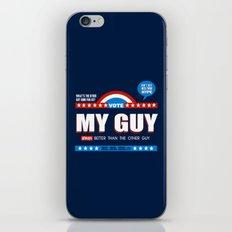 American Debate iPhone & iPod Skin